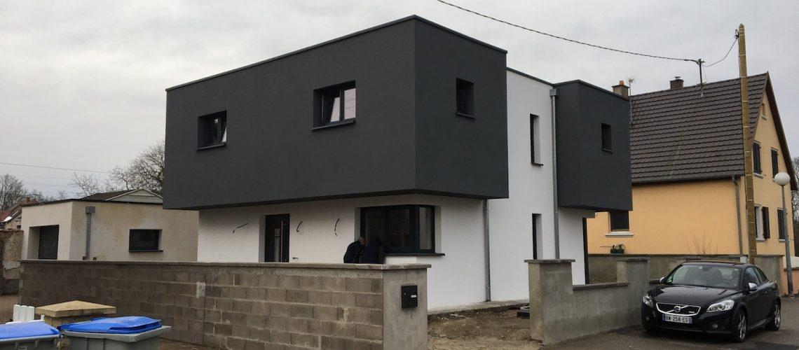 Construction maison d'habitation